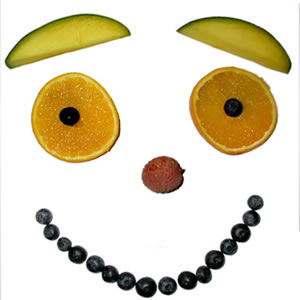 Fruit Smile Face