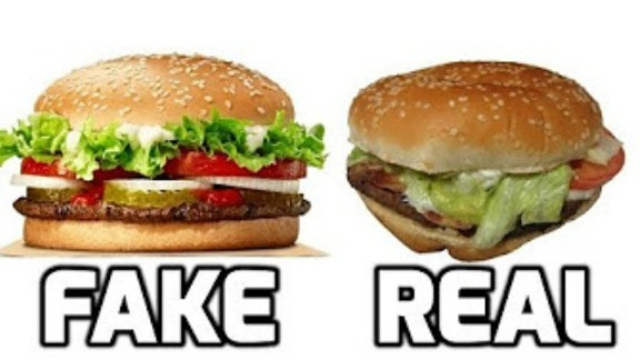 Fast Food False Advertising